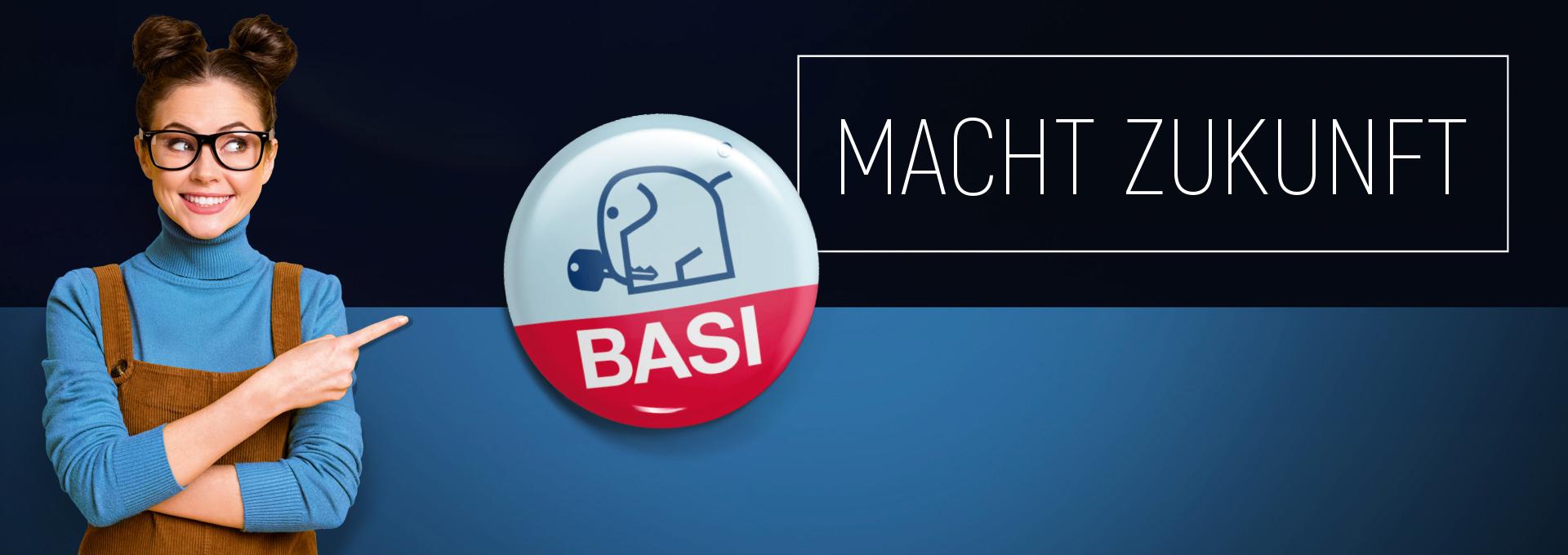 Header - BASI macht Zukunft.