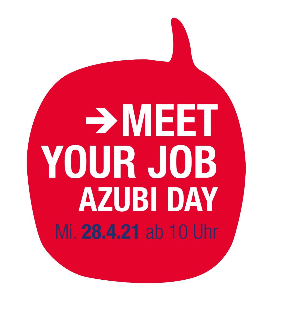 Logo für den Azubi Tag am 28.04.21
